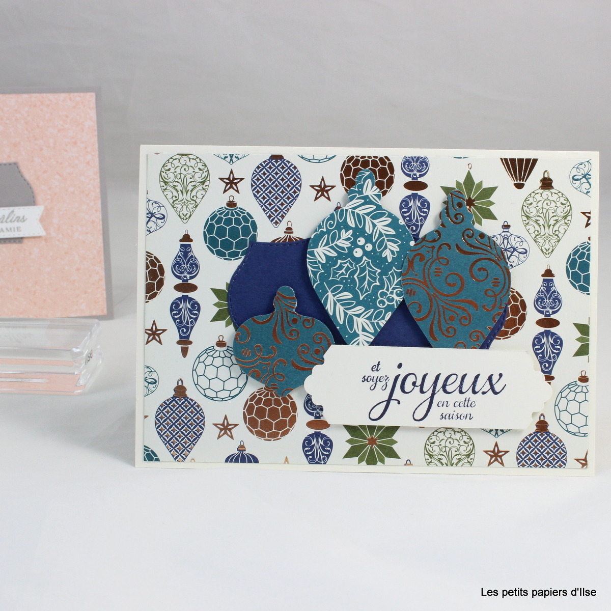 Photo de la carte écrin pour une carte-cadeau