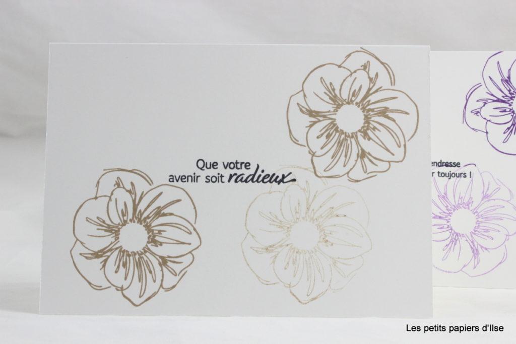 Photo de la carte simple essence florale