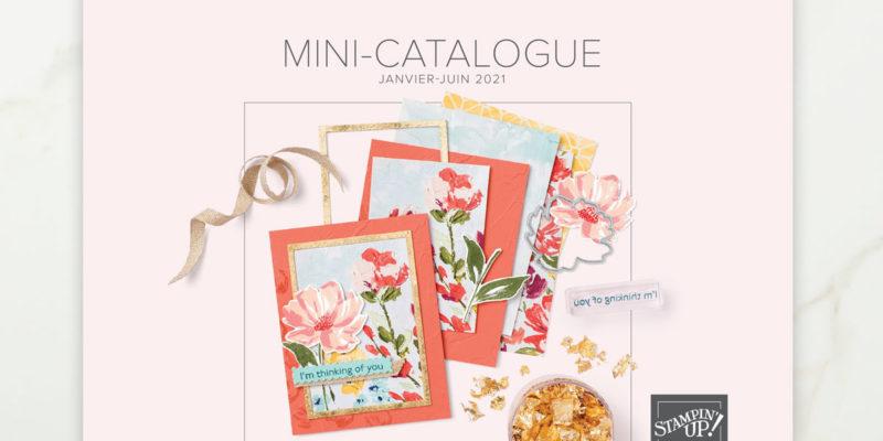 Couverture du mini catalogue janvier-juin 2021