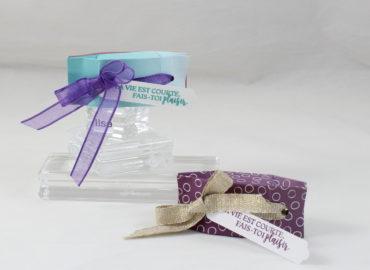 Photo de la mini-boite cadeau à bijoux