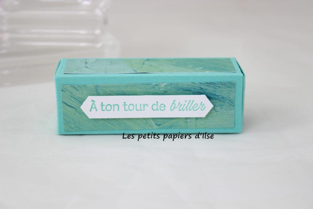 Photo de la boite cadeau pour stick lèvres