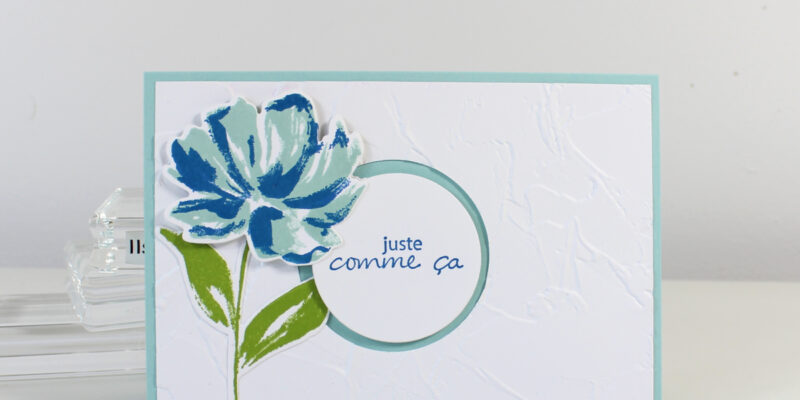 Photo de ma carte galerie florale artistique