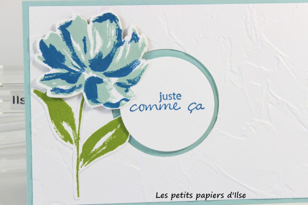 Détail de la carte galerie florale artistique
