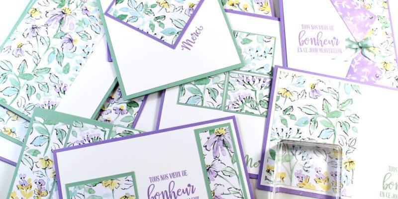 Stamp impressions europe joue avec le papier