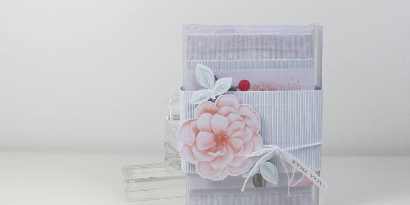 Photo du kit de cartes Rose sentimentale